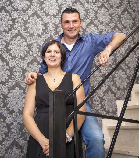 Evy en Christophe, de nieuwe uitbaters van Zenna Wellness
