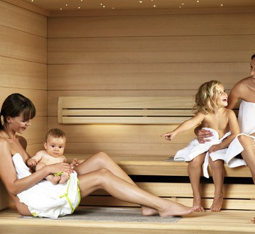 gezonde sauna