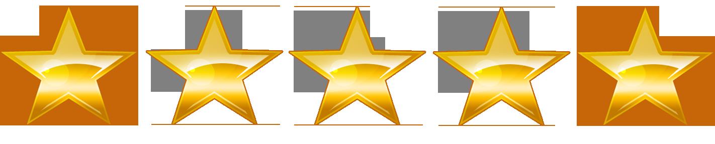5 sterren recensies